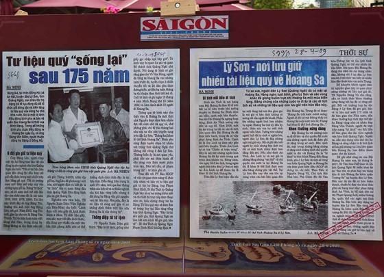 """284 bài báo, tư liệu được trưng bày tại Triển lãm """"Tư liệu báo chí về Hoàng Sa"""" ảnh 4"""