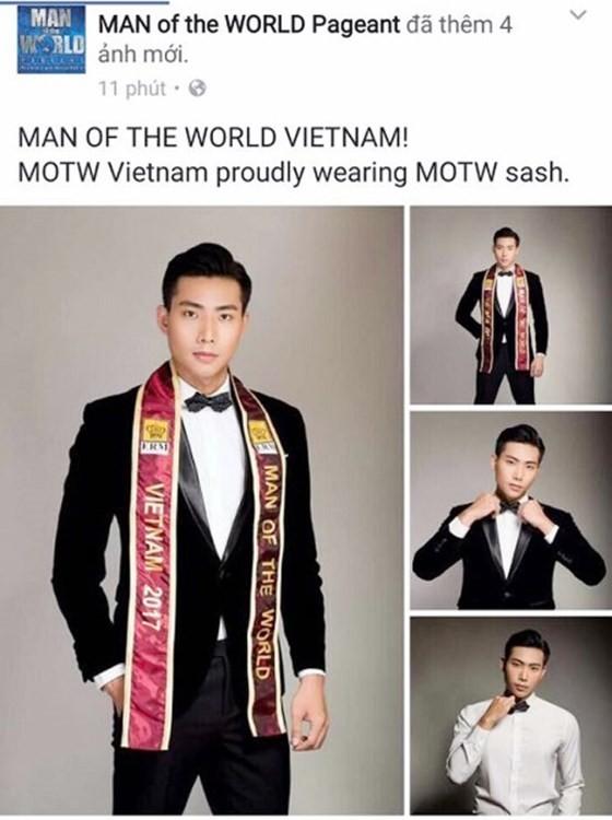 Model Huu Long represents Vietnam at Man of World 2017 ảnh 1