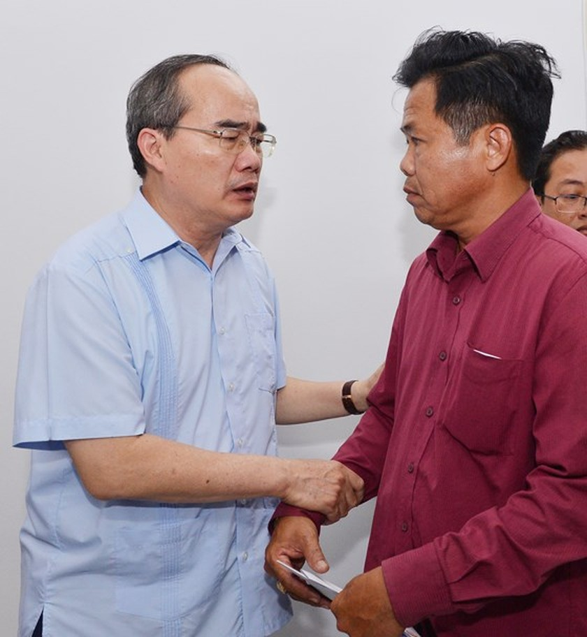 HCMC Party Chief Nhan directs to review firefighting task in condominium ảnh 1
