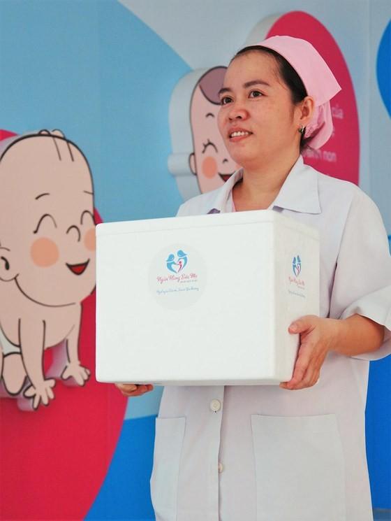 First human breast milk bank opened in Tu Du Maternity in HCMC ảnh 4