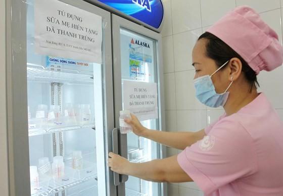 First human breast milk bank opened in Tu Du Maternity in HCMC ảnh 8