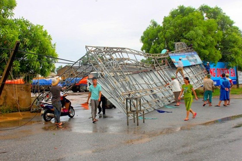 North- central region overcoming consequences after typhoon Talas  ảnh 2