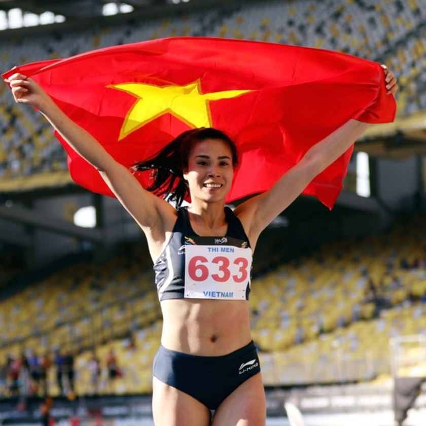 Vietnam athletic team gains third gold medal  ảnh 1