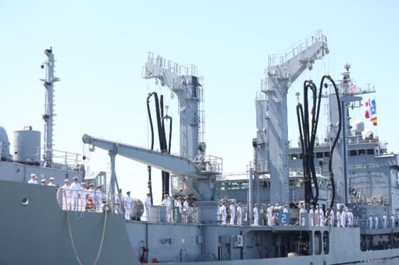 RoK's naval ships arrive in Da Nang city  ảnh 1