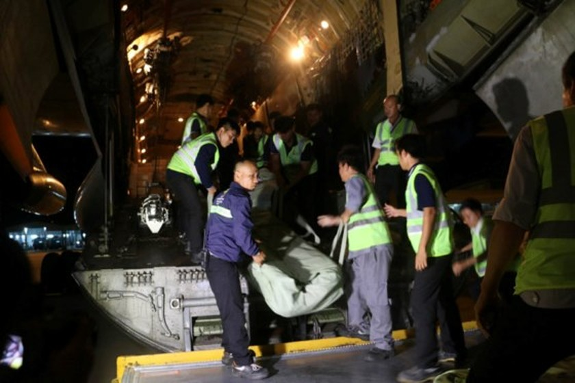 Russia's aircraft carrying humanitarian cargoes arrives in Cam Ranh   ảnh 5