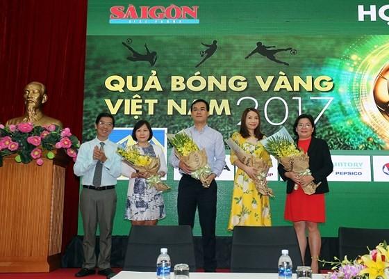Press conference on Vietnamese Golden Ball Awards 2017 ảnh 1