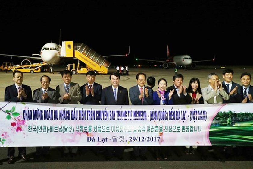 Da Lat- RoK direct air route opens ảnh 1