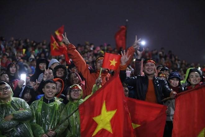 U23 football team honoured at grand ceremony ảnh 7