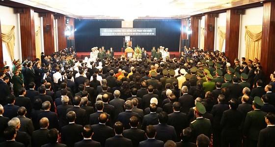Vietnam declares two day national mourning for former PM Phan Van Khai ảnh 9