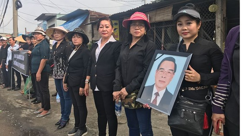 Vietnamese people bid last farewell to late PM Phan Van Khai  ảnh 20
