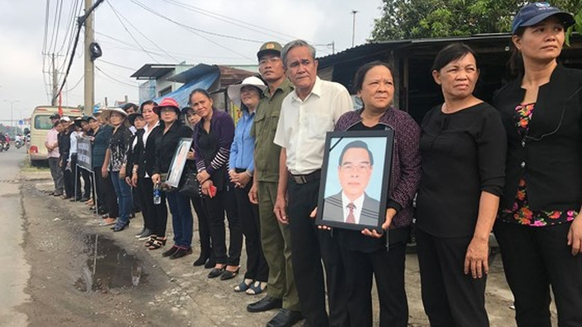 Vietnamese people bid last farewell to late PM Phan Van Khai  ảnh 19