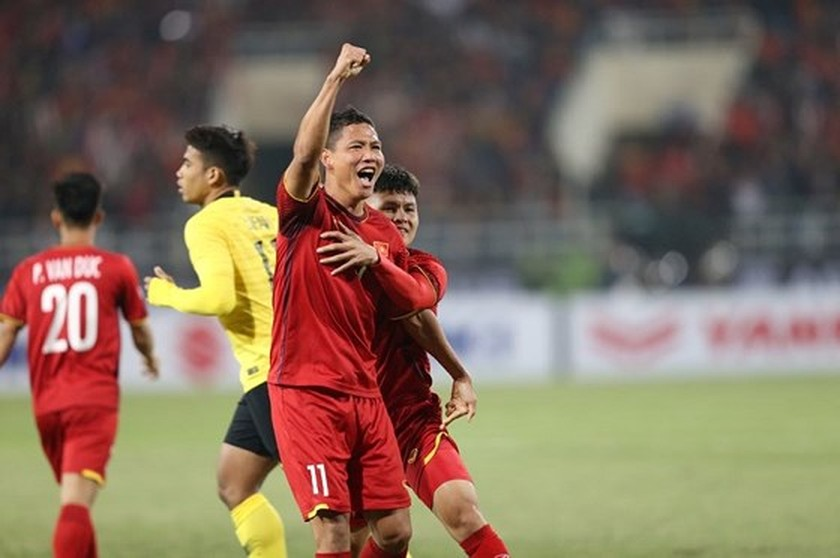 Highlighted photos in second-leg finals of AFF Cup 2018 ảnh 1