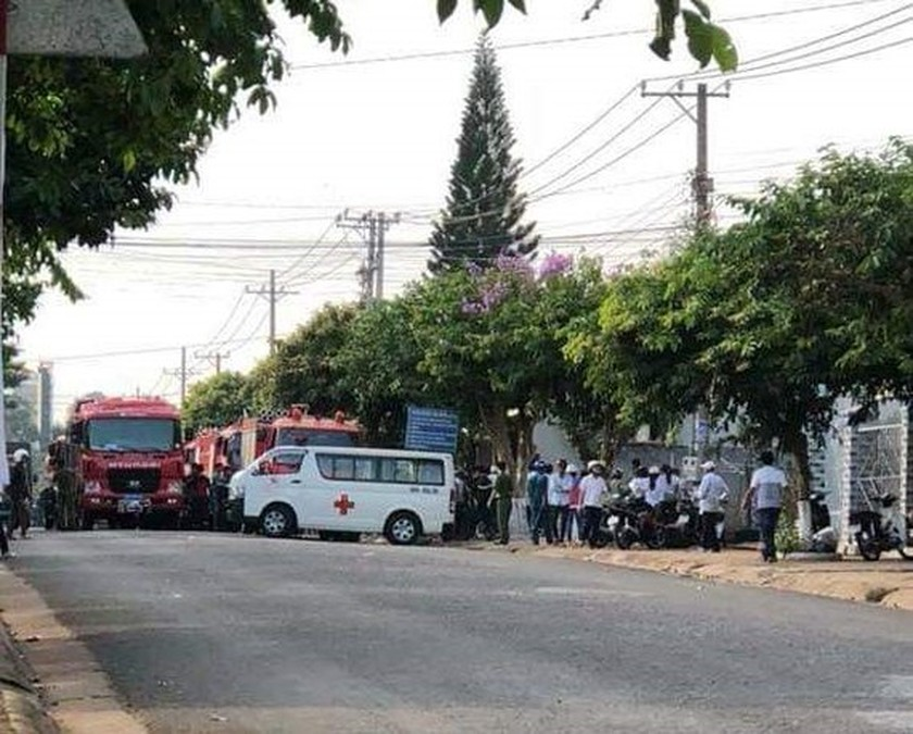 Six deaths reported after restaurant fire in Dong Nai  ảnh 1