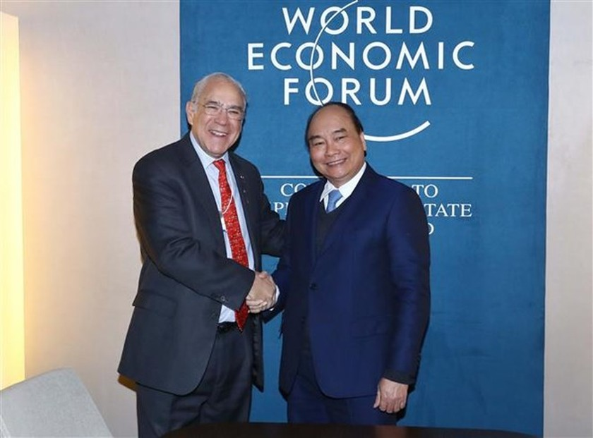 Prime Minister meets with foreign leaders in Davos ảnh 3