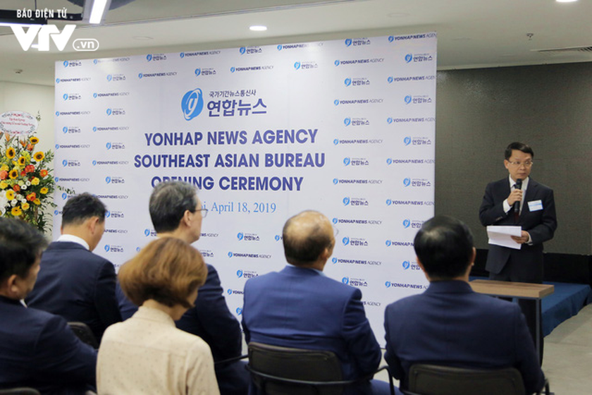 Yonhap inaugurates Southeast Asian office in Hanoi ảnh 1