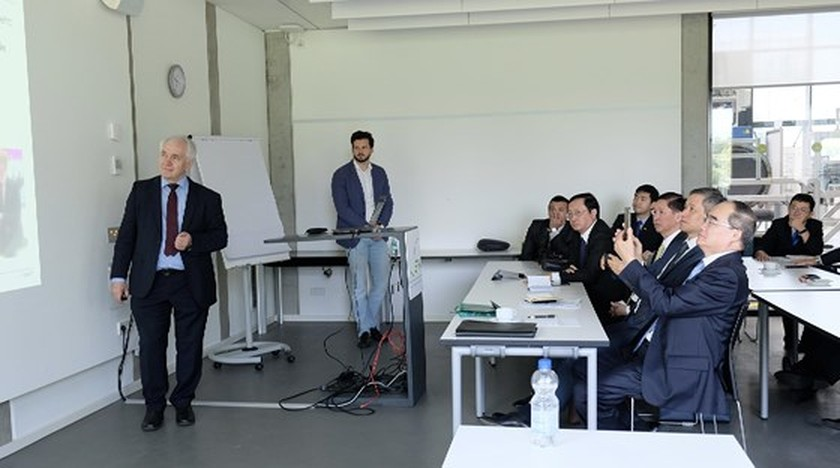 City delegation explores building future city of Germany  ảnh 3
