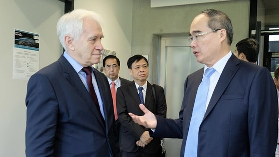 European visit draws future image of HCMC ảnh 9