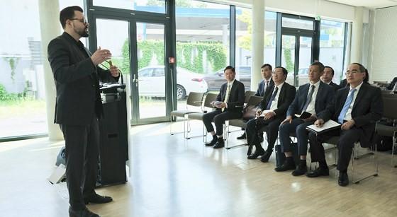 European visit draws future image of HCMC ảnh 4