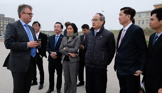 European visit draws future image of HCMC ảnh 7