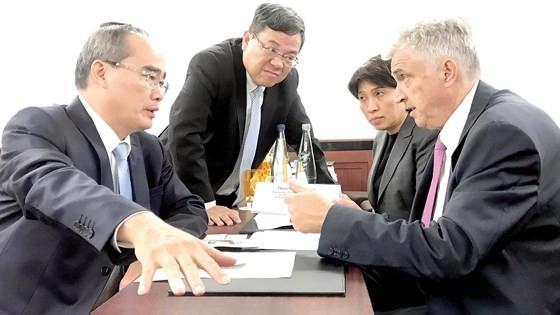 European visit draws future image of HCMC ảnh 6