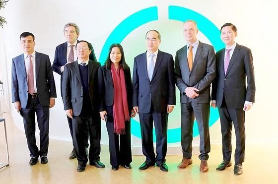 European visit draws future image of HCMC ảnh 10