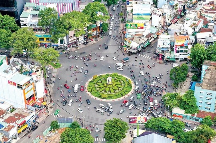 HCMC roundabouts have their owned history ảnh 1