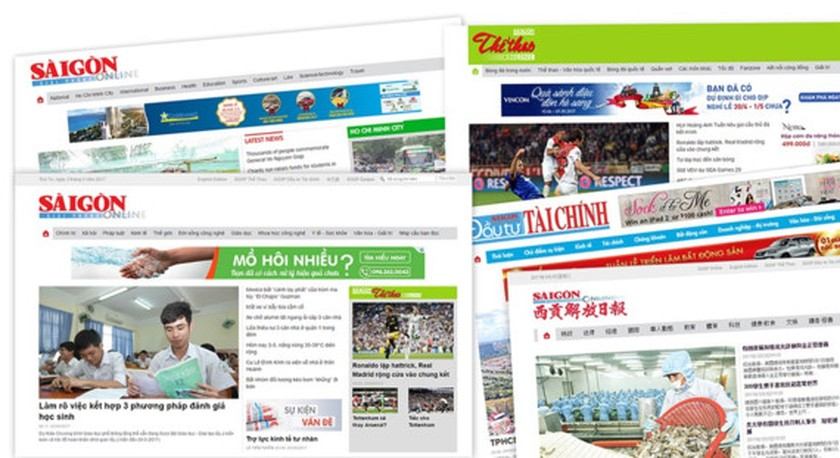 Sai Gon Giai Phong's new online newspaper officially launched ảnh 1