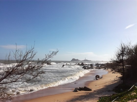 Resorts, restaurants abandoned after stop of Ke Ga seaport project ảnh 1