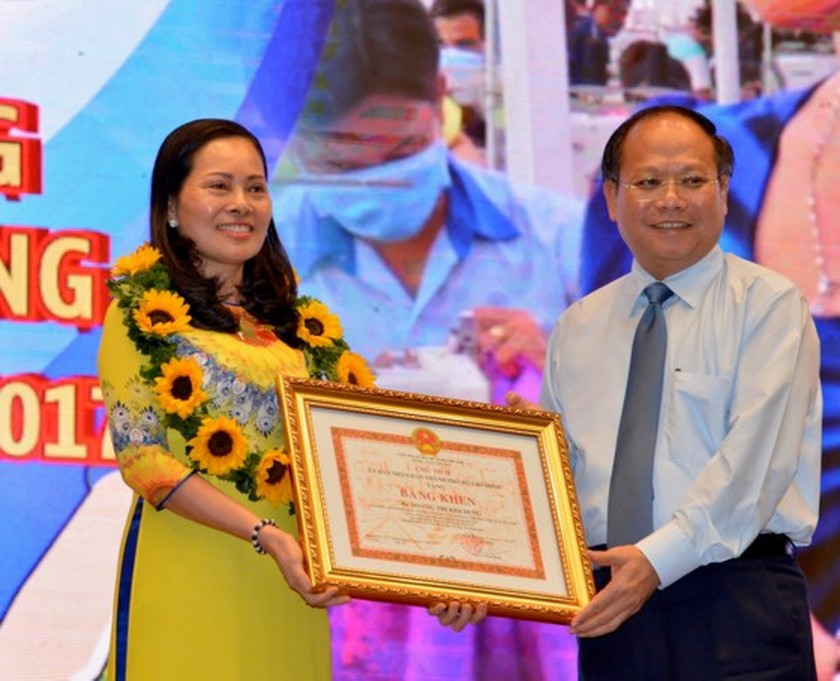 Ton Duc Thang Award honors 10 outstanding workers, engineers in HCMC ảnh 1