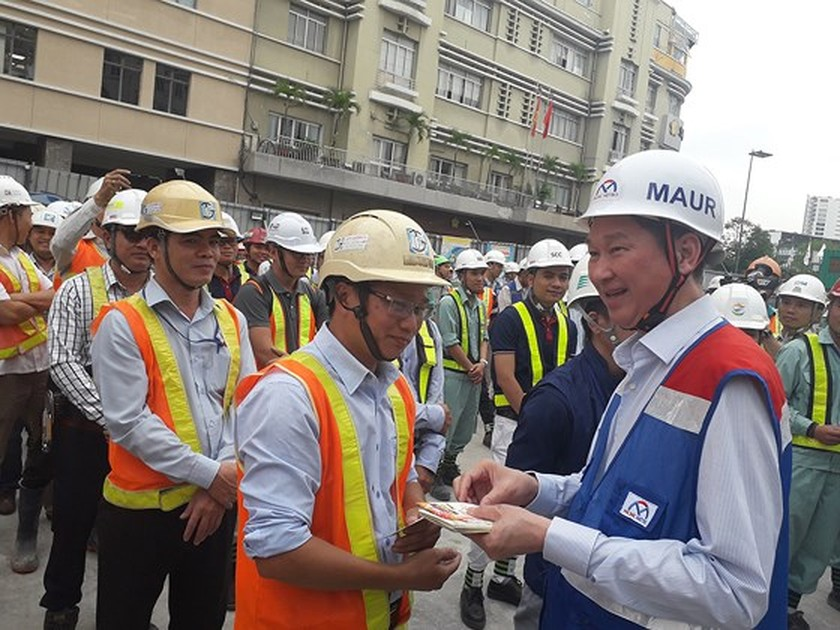 HCMC to test first metro line in October 2020 ảnh 1