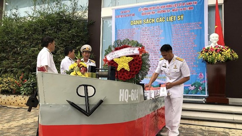 Ceremony commemorates fallen soldiers in Gac Ma battle ảnh 6