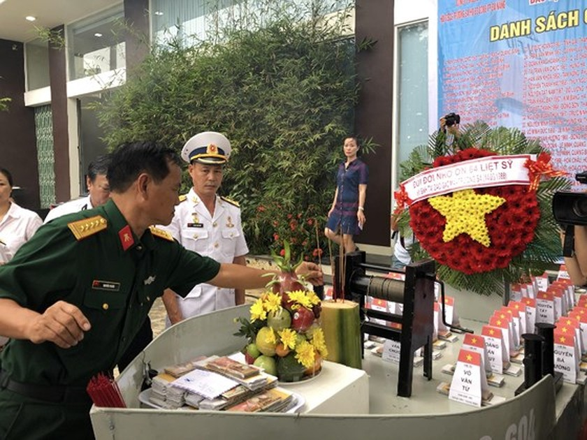 Ceremony commemorates fallen soldiers in Gac Ma battle ảnh 14