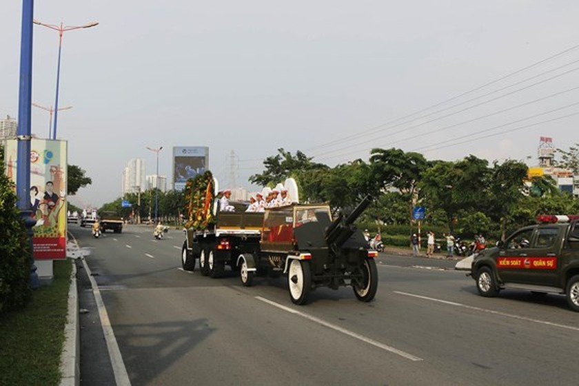 Former President Le Duc Anh laid to rest in HCMC ảnh 5