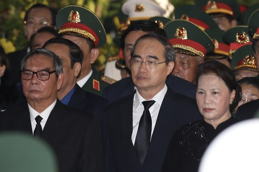 Former President Le Duc Anh laid to rest in HCMC ảnh 2