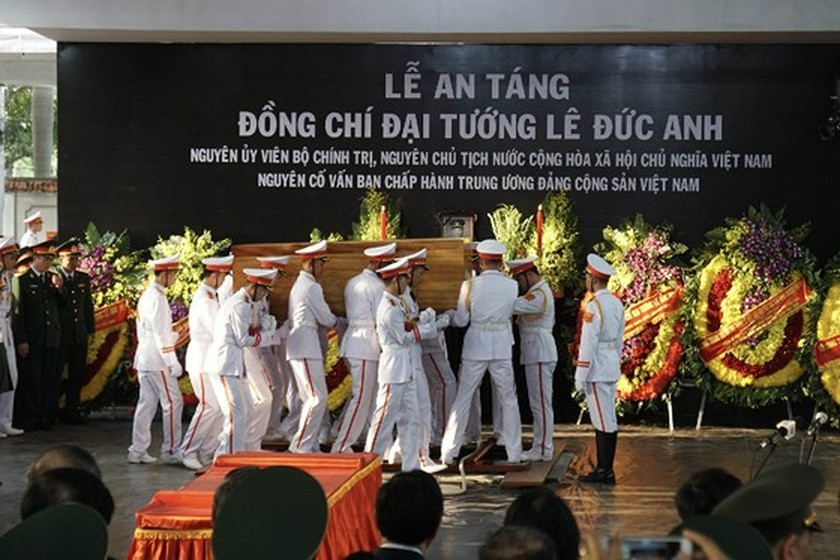 Former President Le Duc Anh laid to rest in HCMC ảnh 14
