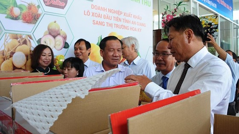 Vietnamese mangoes continue being exported to US ảnh 1