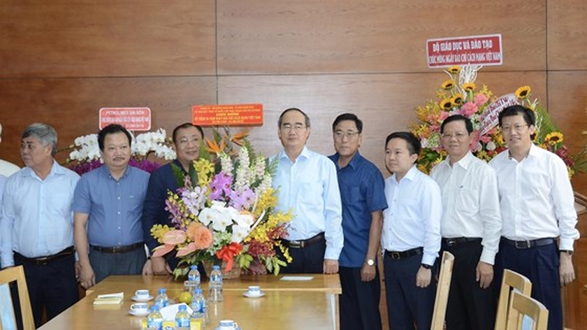City Party Chief hopes SGGP to continue contributing to city development ảnh 3
