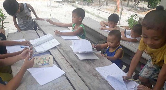 Summer days of children in countryside ảnh 7