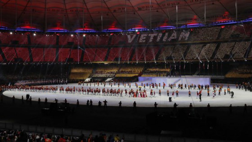 SEA Games 29 opened  ảnh 2