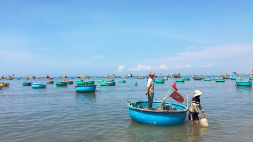 Binh Thuan's fishermen busily prepare for fishing trip after storm ảnh 2