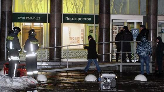 10 hurt in Saint Petersburg supermarket bombing  ảnh 1
