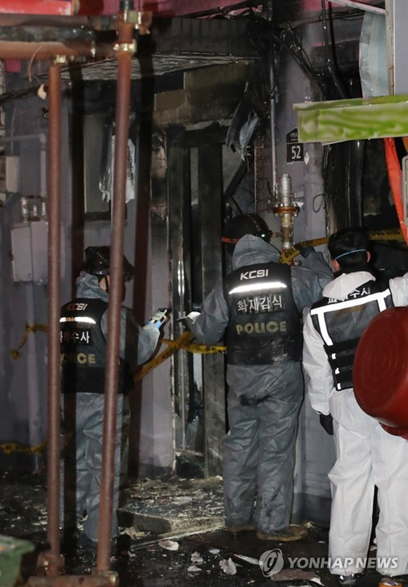 5 killed in suspected arson attack in Seoul motel ảnh 1