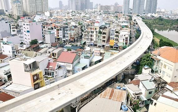 HCMC's metro line No.1 Ben Thanh Suoi Tien project ảnh 1