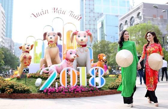 Nguyen Hue Flower Street opens tonight ảnh 4