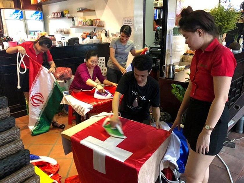 VIDEO: Activities celebrate 2018 World Cup  ảnh 3