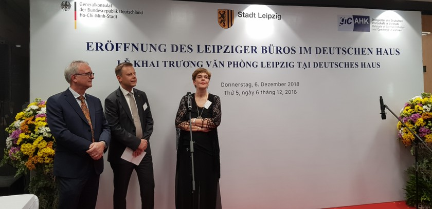 Leipzig's representative office opens in HCMC ảnh 2