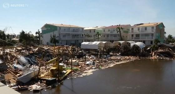 Quân đội Mỹ khẩn trương tìm kiếm người sống sót sau khi bão Michael quét qua Florida ảnh 3