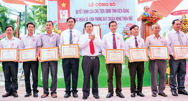 Vùng sâu Vĩnh Thuận… đổi đời ảnh 1