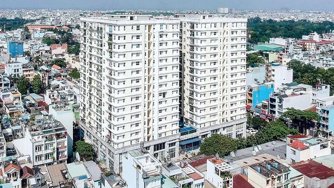 Khó cưỡng chế chung cư Khang Gia Tân Hương? ảnh 1