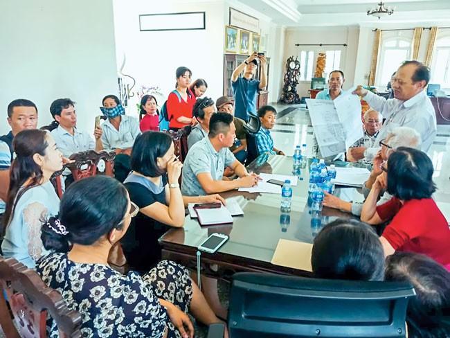 Khu dân cư Nam - Nam Sài Gòn: Người mua đất bị đưa vào tròng ảnh 1
